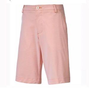 NWT Puma Boys Orange Golf Shorts